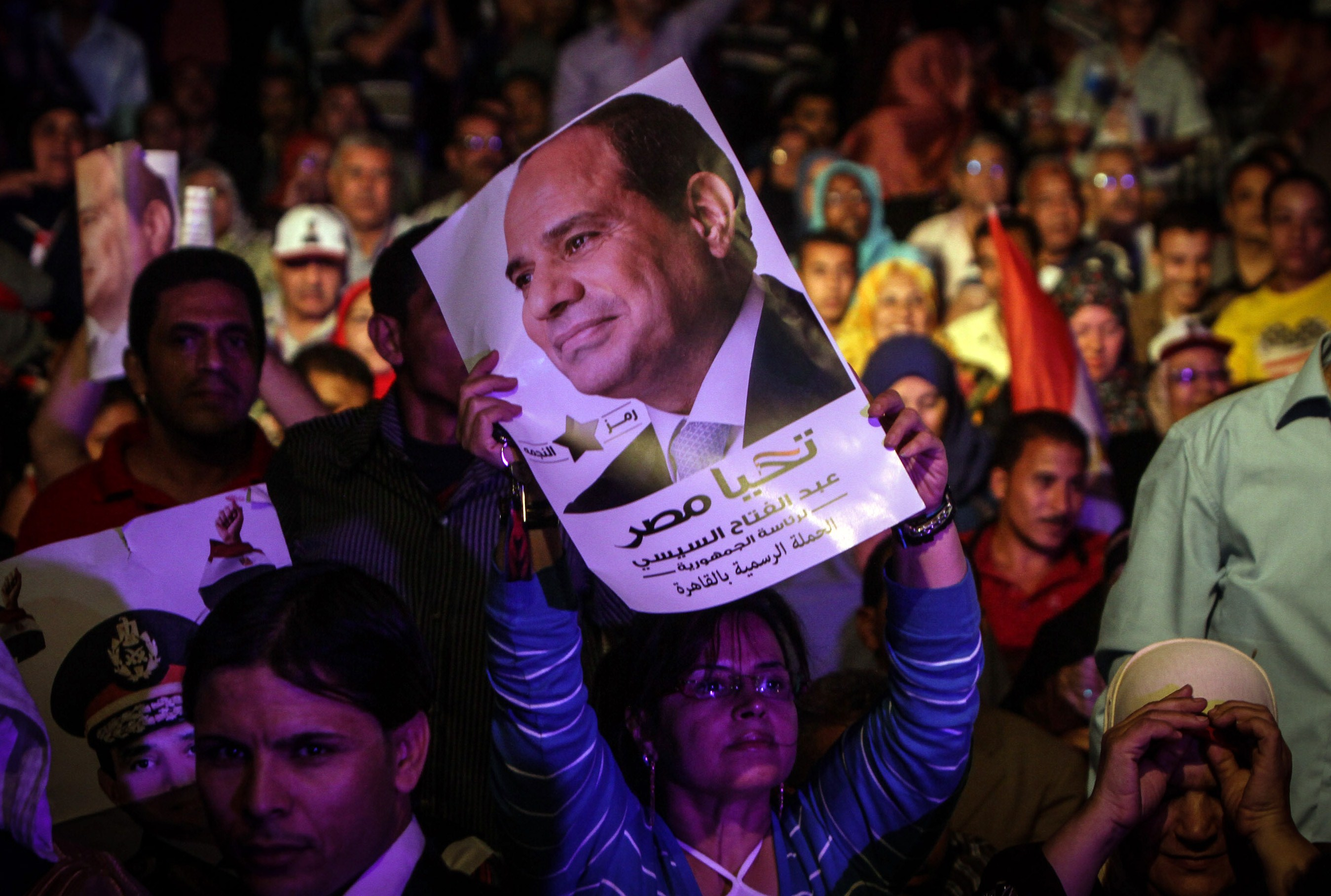 In June 2013, Egytians took the street in massive numbers once again, demanding the ouster of former president Mohamed Morsi (AFP PHOTO / MOHAMED EL-SHAHED)