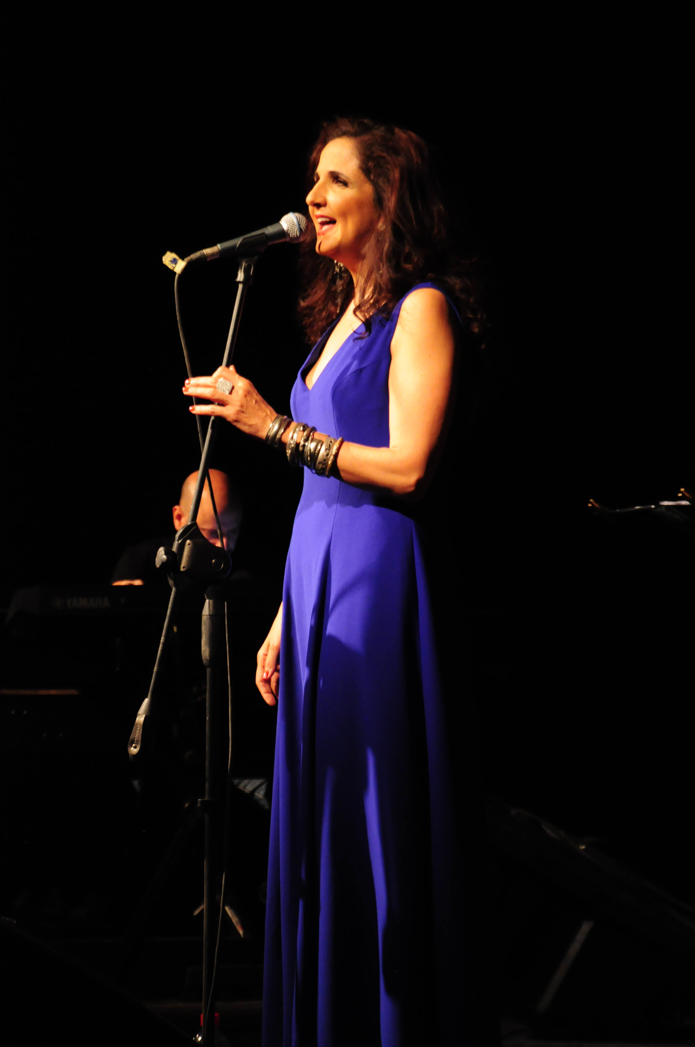 Lebanese singer Tania Saleh played three concerts in Cairo this week (Photo by Marwa Morgan)