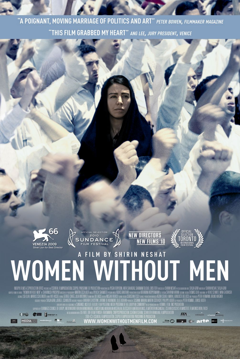 Women Without Men, an old movie that explores the limitations of women's lives in Iran (Photo Public domain)
