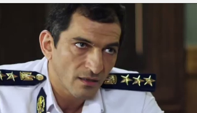 Actor Amr Waked appears as a corrupt state security police officer in Ahl Iskendereya, which two private television stations banned this week (Photo Screen shot)