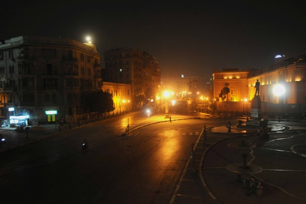 Cairo nights have become known for eerily quiet streets (Public domain)