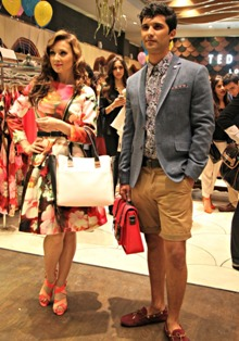 Ted Baker offers sleek and modern designs inspired by spring florals Ted Baker