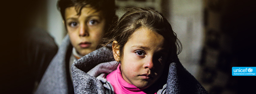 91% of children in Egypt are subjected to emotional and sociological violence (Photo from UNICEF's Facebok page )