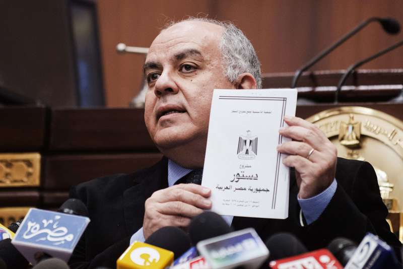 Darrag claimed that the Muslim Brotherhood had been the most active NGO in Egypt in recent decades.  (AFP File Photo)