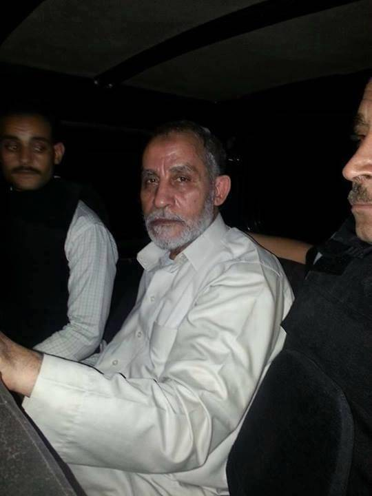 Supreme Guide of the Muslim Brotherhood Mohamed Badie ordered detained for 15 days