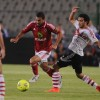 The derby between Cairo giants Al-Ahly and Al-Zamalek on Saturday ended in a 1-0 victory for the Red Devils.