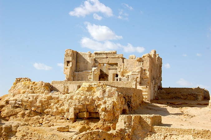 The site of the Temple of the Oracle near the Siwa town centre is fabled to be the place where Alexander the Great sought guidance and was told he was the Son of God (Photo by Joel Gulhane)