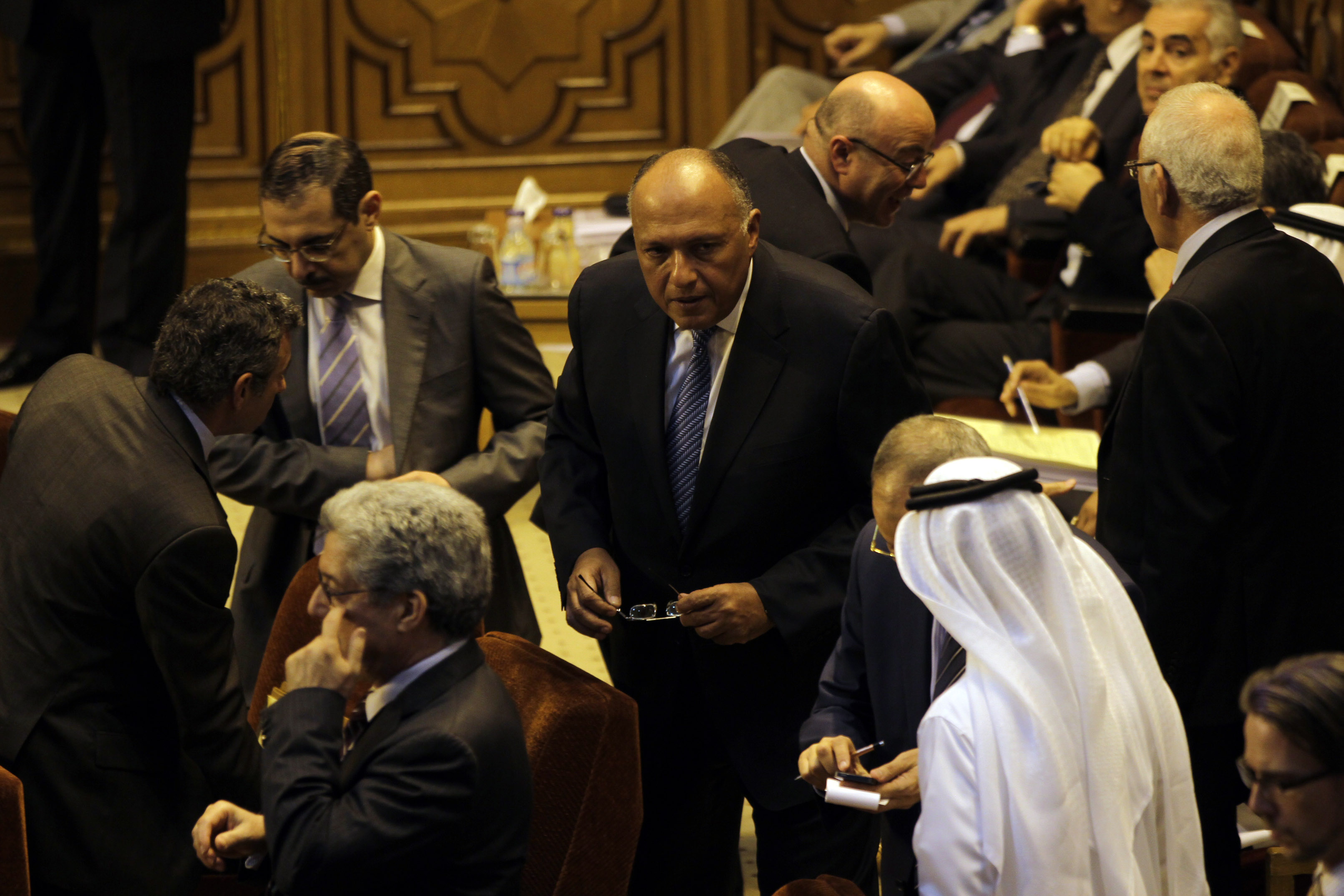 Ministers from the 22 Arab League member states have conducted meetings with their Egyptian counterpart Sameh Shoukry and President Abdel Fattah Al-Sisi at a time when the region faces a number of crises. (Photo by AHmed Al-Malky/DNE)