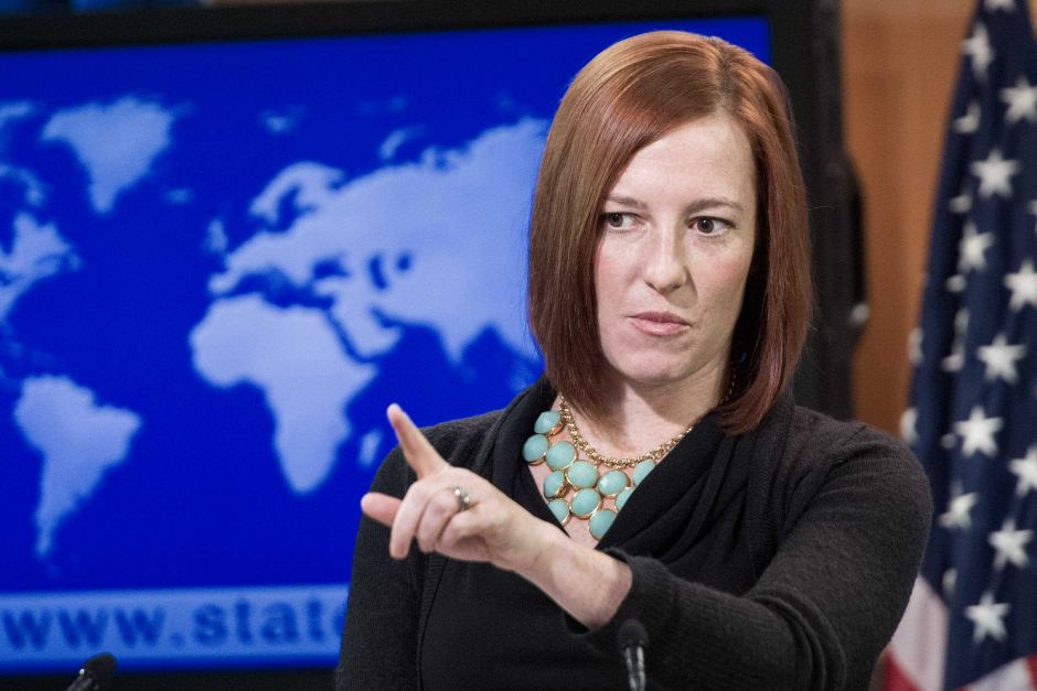US State Department Spokesperson Jen  Psaki said that she does not believe that the Egyptian government would share the statement if asked during Tuesday's Daily Press Briefing