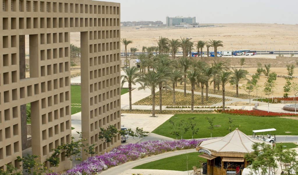 The university announced it would suspend classes in its New Cairo campus