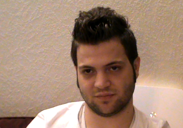Abdullah—the man from the Syrian oppression video who failed to renew his passport, and was chased by Arabic extremism in the west (Photo Handout to DNE)
