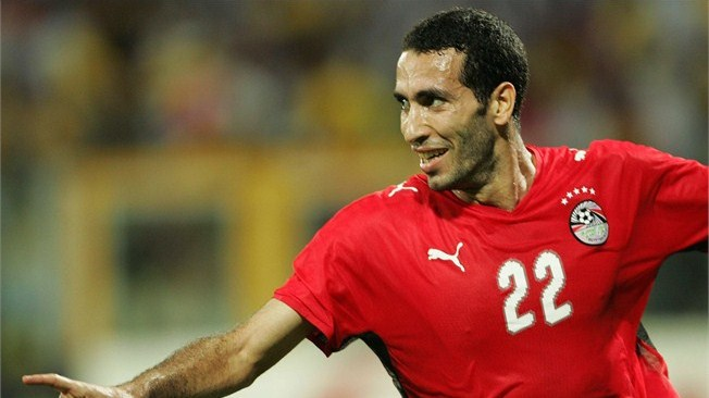 Egyptian football player Mohamed Abu Trika. (AFP Photo)