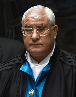 Interim president Adly Mansour (Khaled Desouki / AFP /Getty Images)