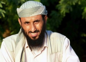 Al-Qaeda in the Arabian Peninsula chief Nasser al-Wuhayshi, pictured in Jaar, Abyan province, on April 28, 2012 (AFP/File)
