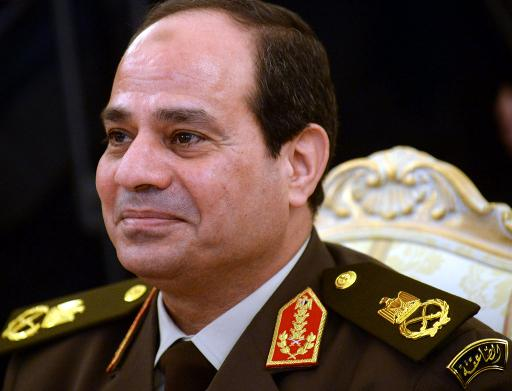 Minister of Defence Abdel Fattah Al-Sisi (AFP, Vasily Maximov)