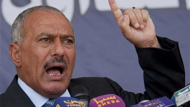 Former president of Yemen Ali Abdullah Saleh