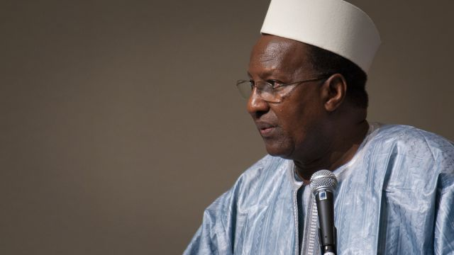 Alpha Oumar Konaré, former President of Mali (Photo by Christophersen/UNU)