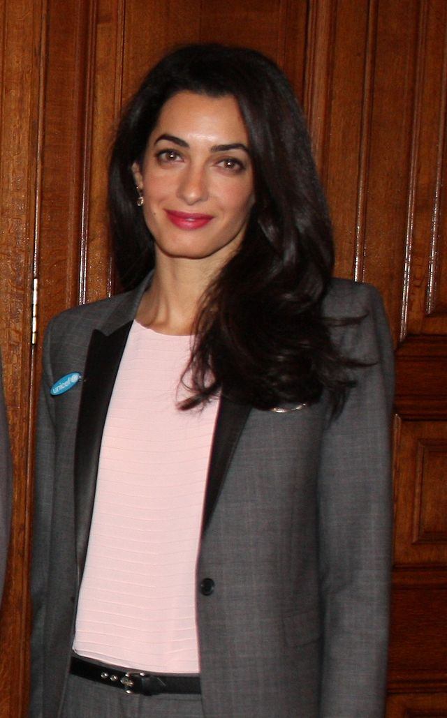 Human rights' lawyer Amal Clooney has reportedly requested to meet with President Abdel Fattah Al-Sisi over the delay in the release of Al Jazeera's jailed journalist Mohamed Fahmy. (Photo Public Domain)