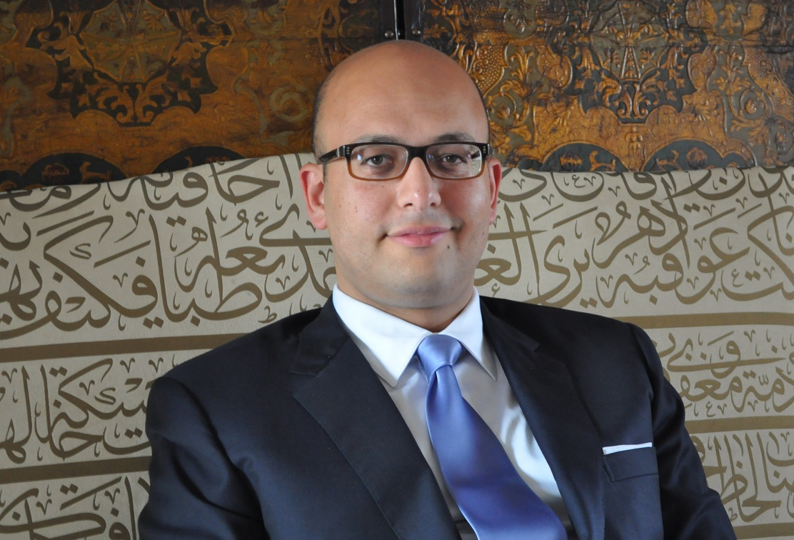 Karim Youssef,  leading arbitrator and Partner at Amreller Legal Consultants (Photo handout to DNE)