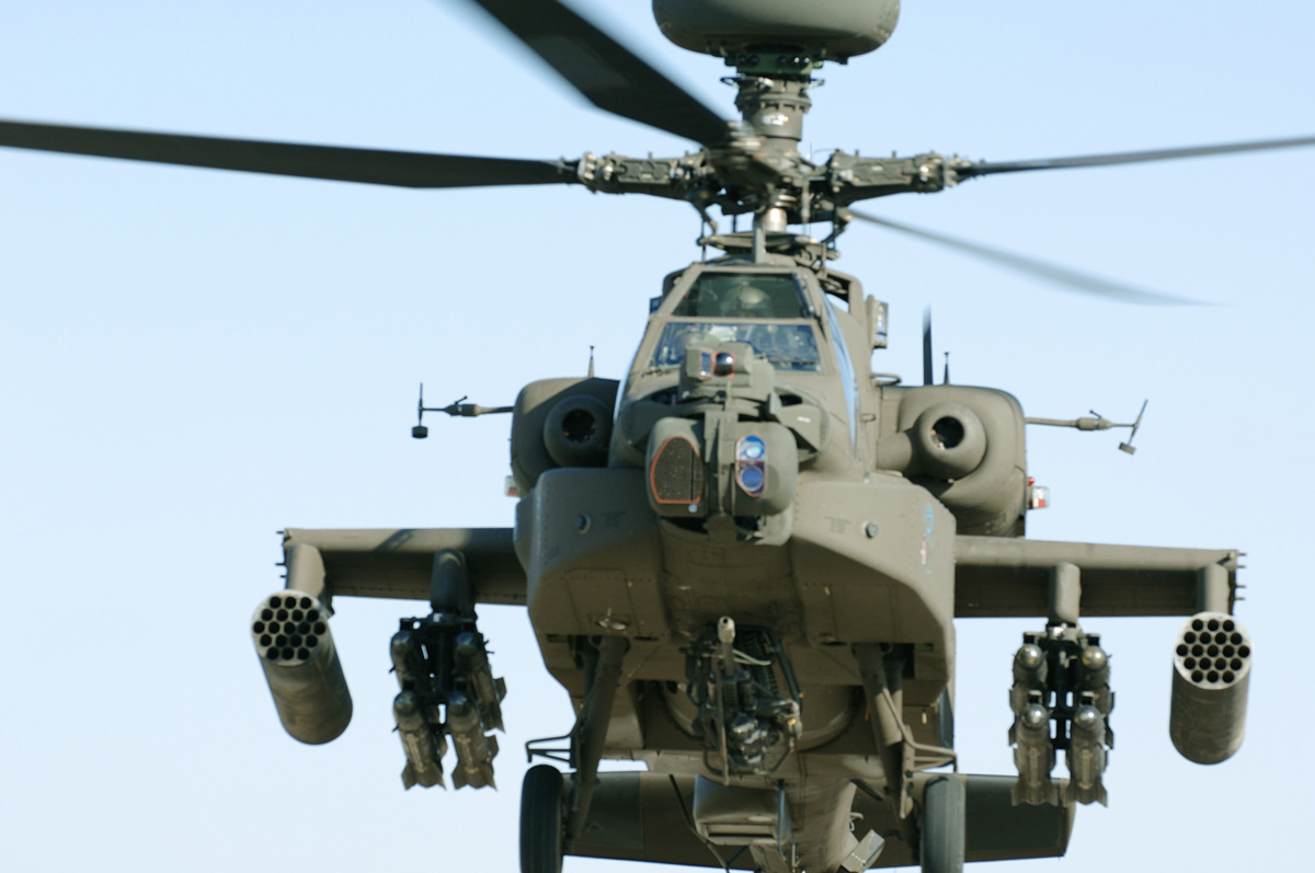 US to send 10 Apache helicopters to Egypt (AFP File Photo)
