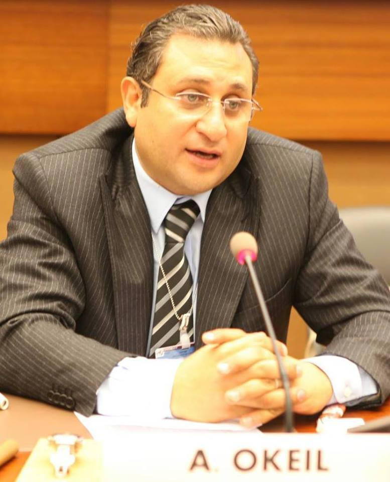 Ayman Okeil, GM of Maat for Peace, Development and Human Rights