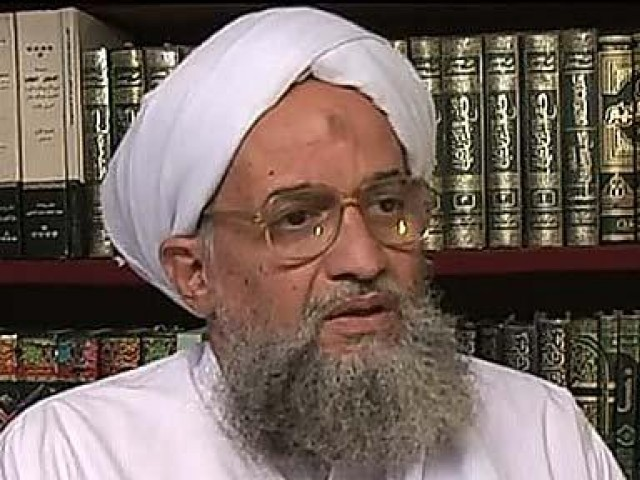Al-Qaeda leader Ayman Al-Zawahiri commented on the current events in Egypt in a video released online, in which he criticised Islamists for losing power and not uniting to implement Sharia. (AFP Photo)