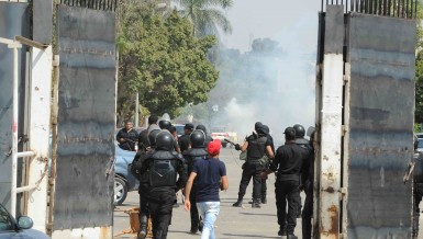 Azhar University Clashes