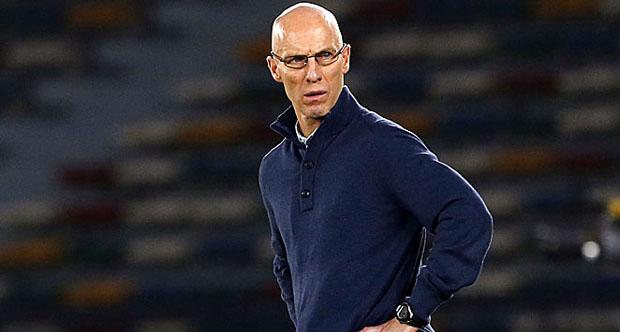 Egyptian National Football team coach Bob Bradley (KARIM SAHIB/AFP/Getty Images)