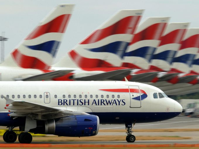 British Airways improves website for customers with disabilities. (AFP Photo)
