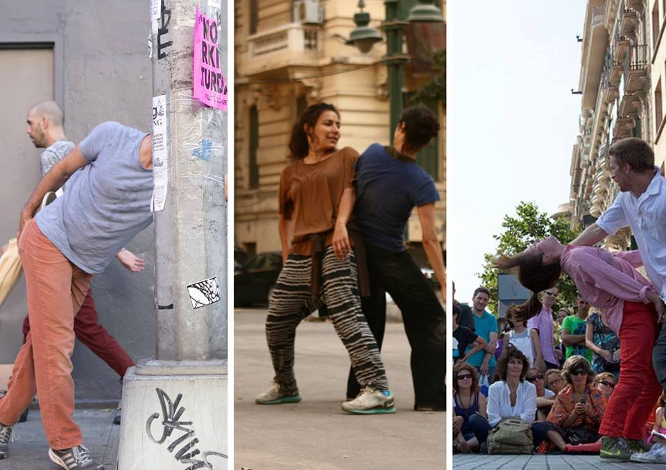 Urban Visions introduces dance in unexpected places (Photo from D-CAF Facebook page)