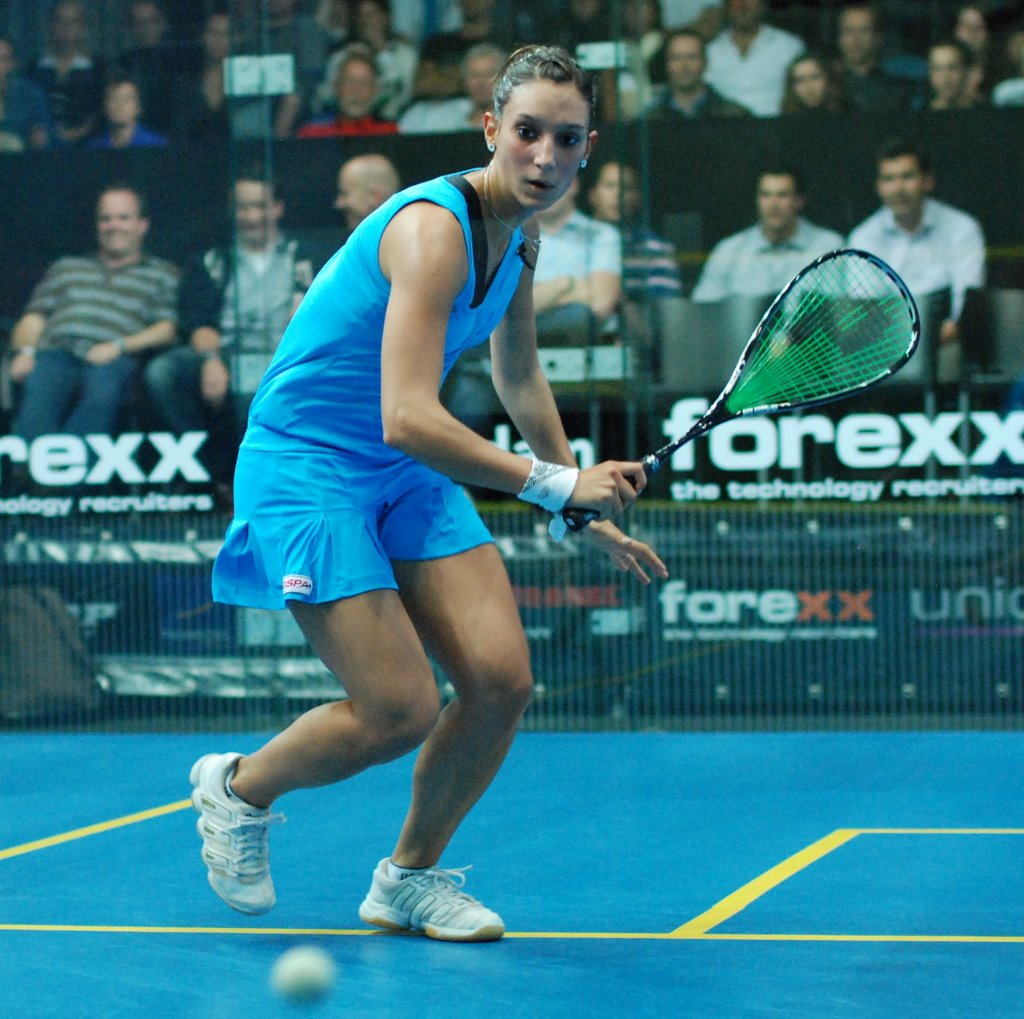 French squash player Camille Serme moves up to the world number 6 ranking, after the defeat of Malaysian world number 1 player Nicol David in the semifinals as well as the defeat of Raneem El Weleily in the quarterfinal.