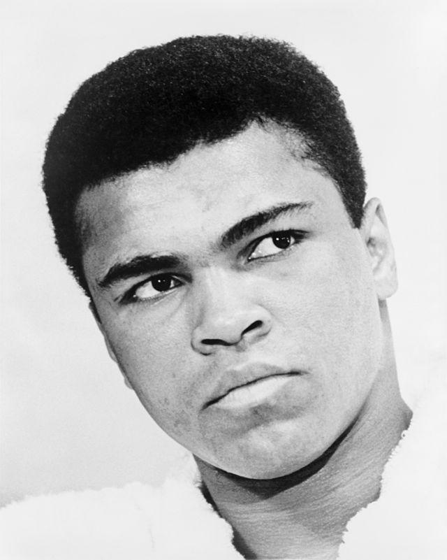 Retired legendary boxer, Muhammed Ali Clay
