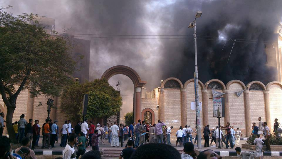 Church in Beni Suef set on fire