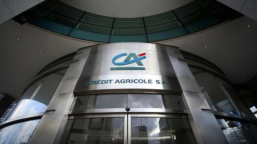 Crédit Agricole has registered EGP 218.5m in net profit in the fourth quarter (Q4) of 2014, marking 42.1% increase compared to Q3, doubling the figure for the corresponding 2013 quarter. (AFP photo)