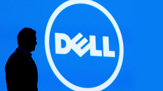 Computer company Dell, must target a 30% sales increase in 2015, at the top end of the IT sector's growth range of 20%-30% (AFP Photo)