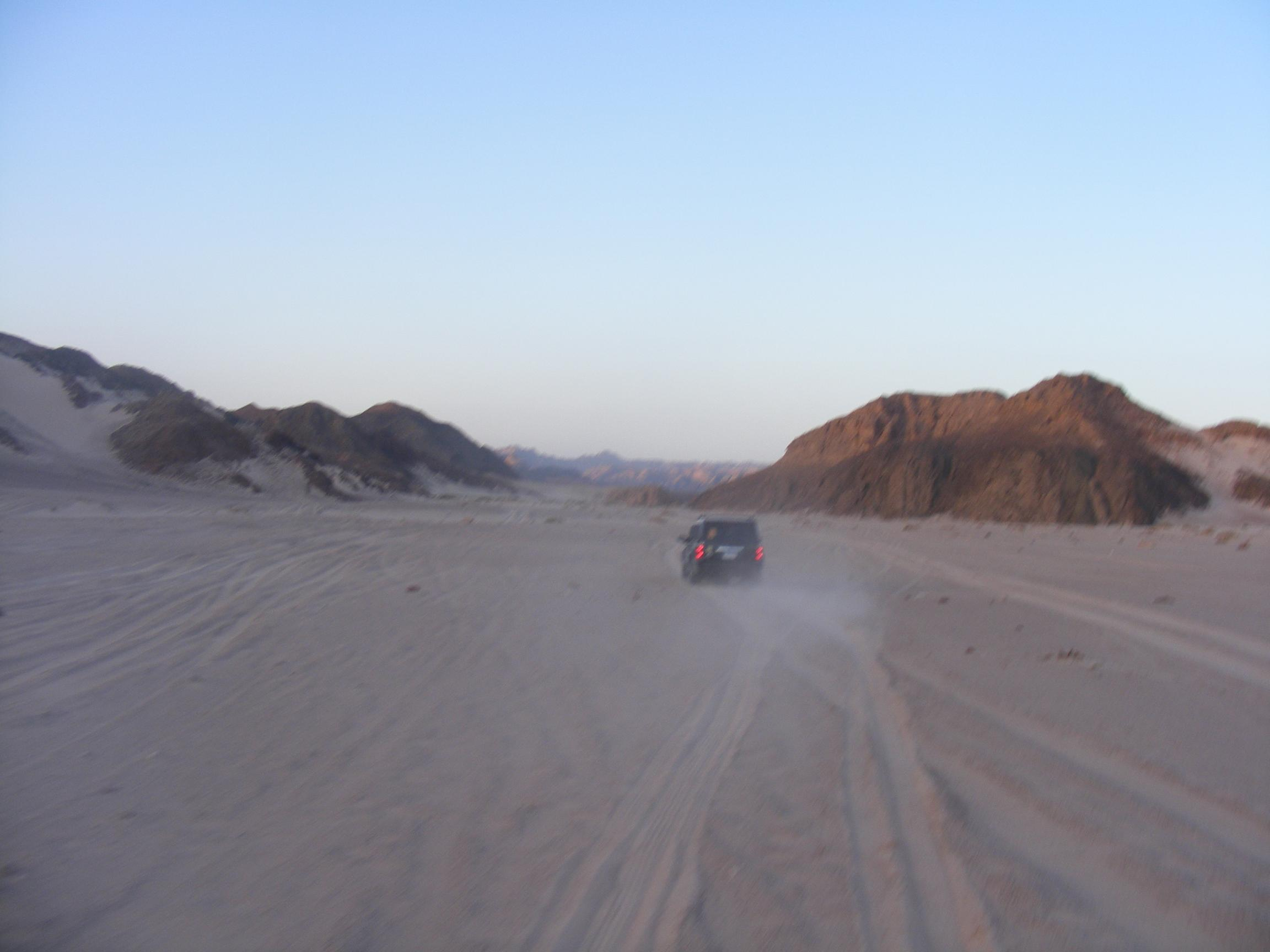 Safaris to return to White Desert next week but remain suspended in southern areas. (DNE Photo)