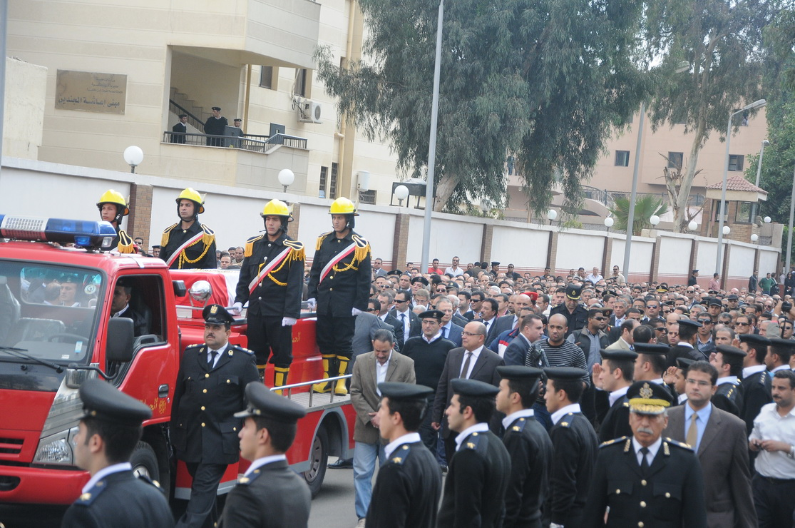 Funeral of Lieutenant Colonel Mohamed Mabrouk on 18 November (Photo by Ahmed AlMalky)