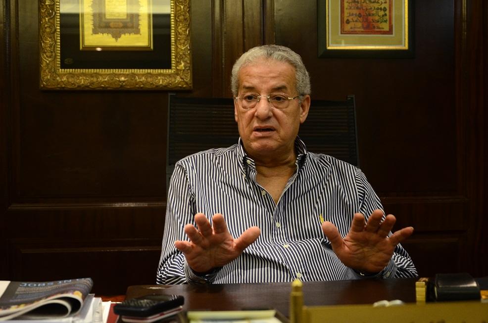 Arab Contractors company Chairman Engineer Mohsen Salah (Photo by Amani Kamal)
