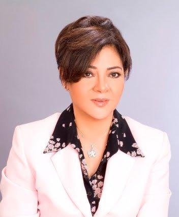 Dorreya Sharaf El-Din, Minister of Information (Photo Public Domain)