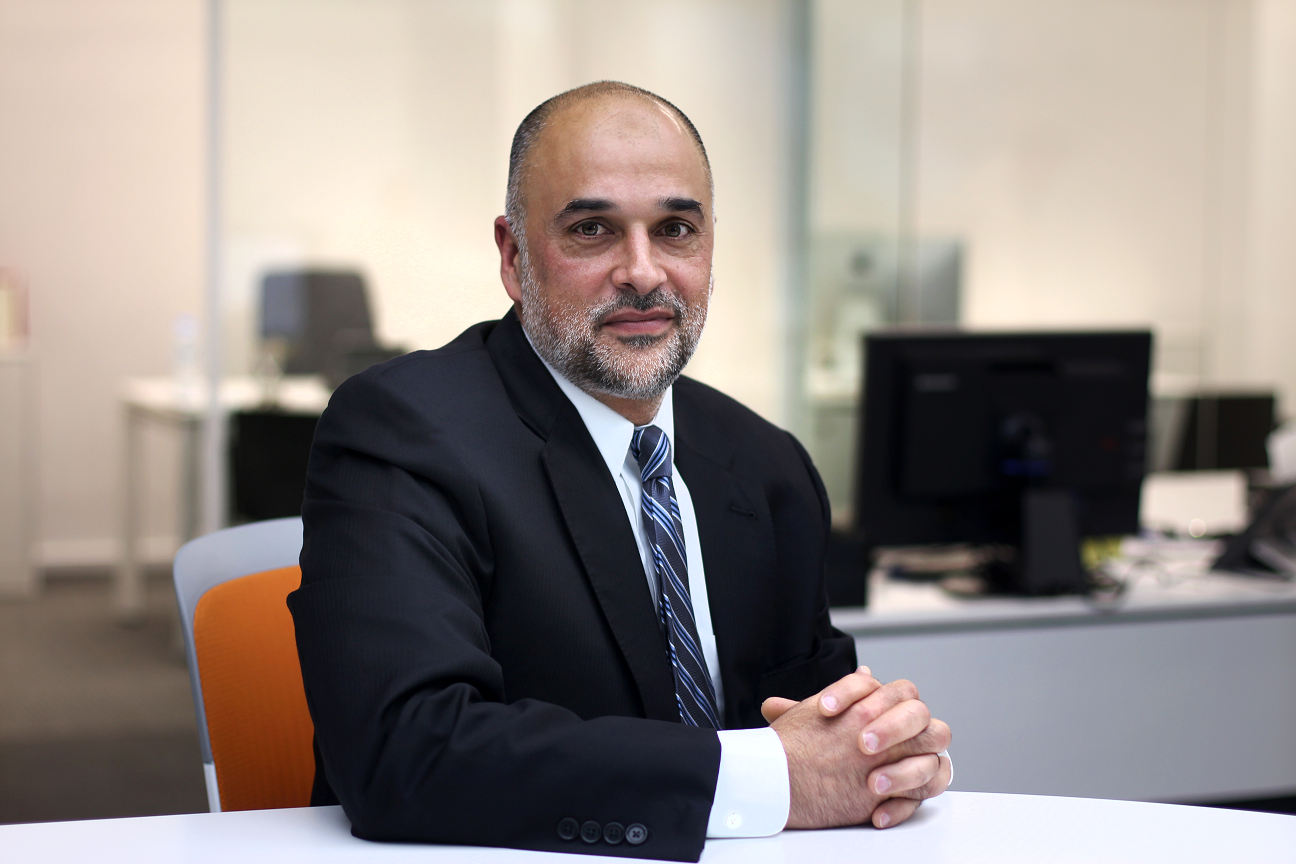 Mahir Nayfeh, senior vice-president at Booz Allen Hamilton and head of Information Telecommunication and Cyber Security