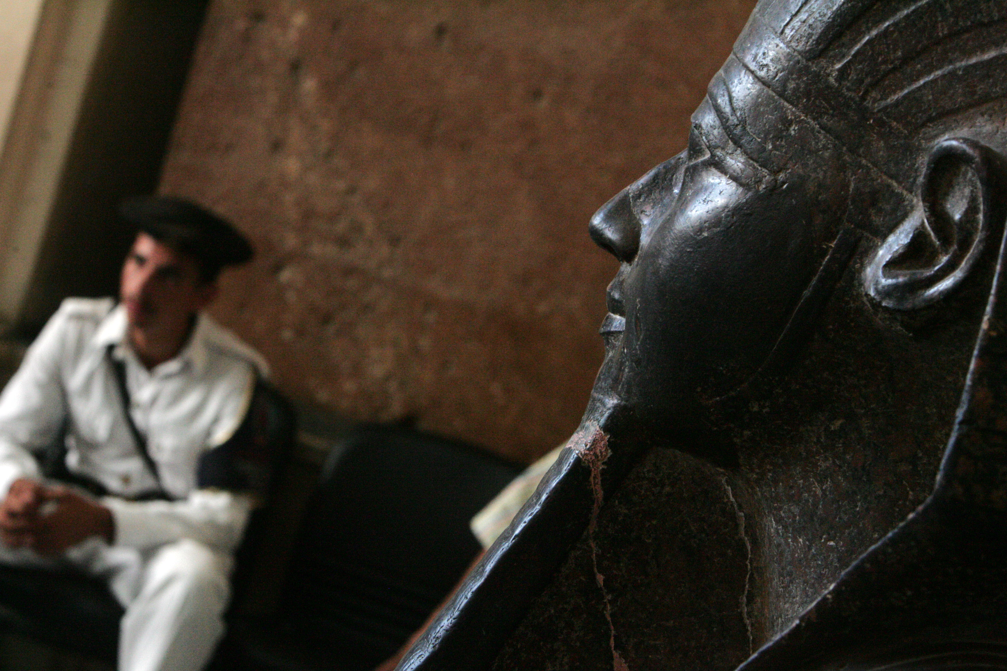 The Ministry of Antiquities is working towards securing $300m to complete the Grand Egyptian Museum's construction, after costs rose from $800m to $1.1bn. (AFP File Photo)