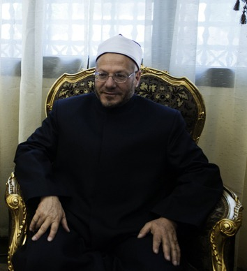 Egypt's Grand Mufti Shawky Allam  (AFP Photo / Gianluigi Guercia)