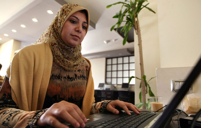 """Of the respondents aged above 35, 81% stated they prefer to own their business, while 77% of respondents aged 35 and below said they would """"consider entrepreneurship"""". (AFP Photo)"""