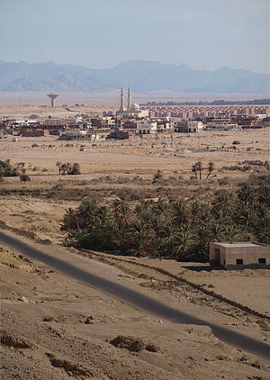El-Tor area in South Sinai, Egypt (Photo from Wikimedia)