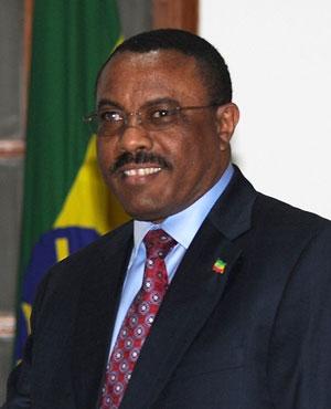 Ethiopian Prime Minister Hailemariam Desalegn (AFP File)