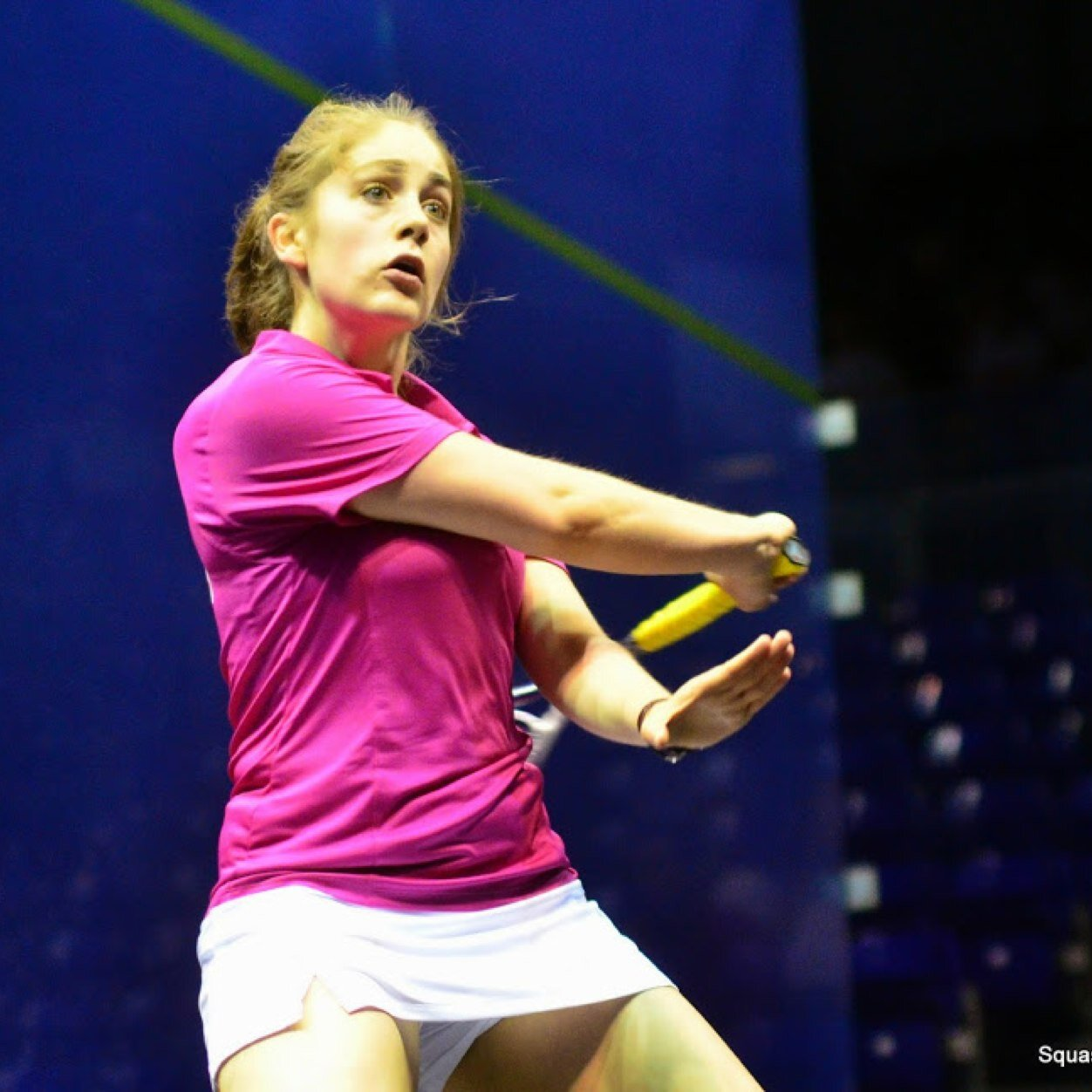 Evans regained her victory in the fourth round with 11-7 as well as the fifth one with 11-5.
