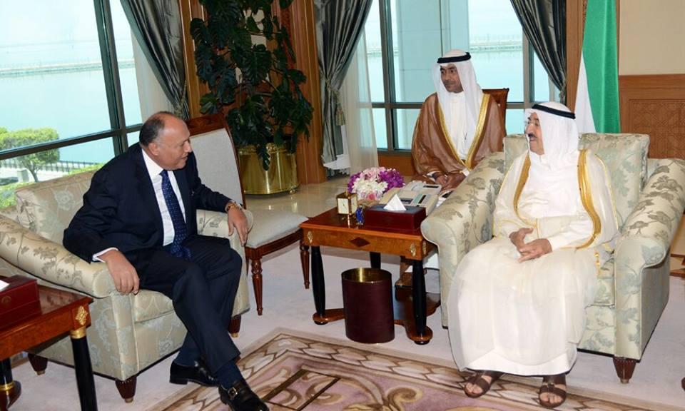 Shoukry met with Kuwaiti Emir Sheikh Sabah Al-Ahmad Al-Jaber Al-Sabah