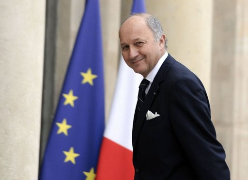 French Minister of Foreign Affairs Laurent Fabius (AFP Photo)