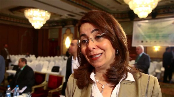 Minister of Social Solidarity Ghada Waly