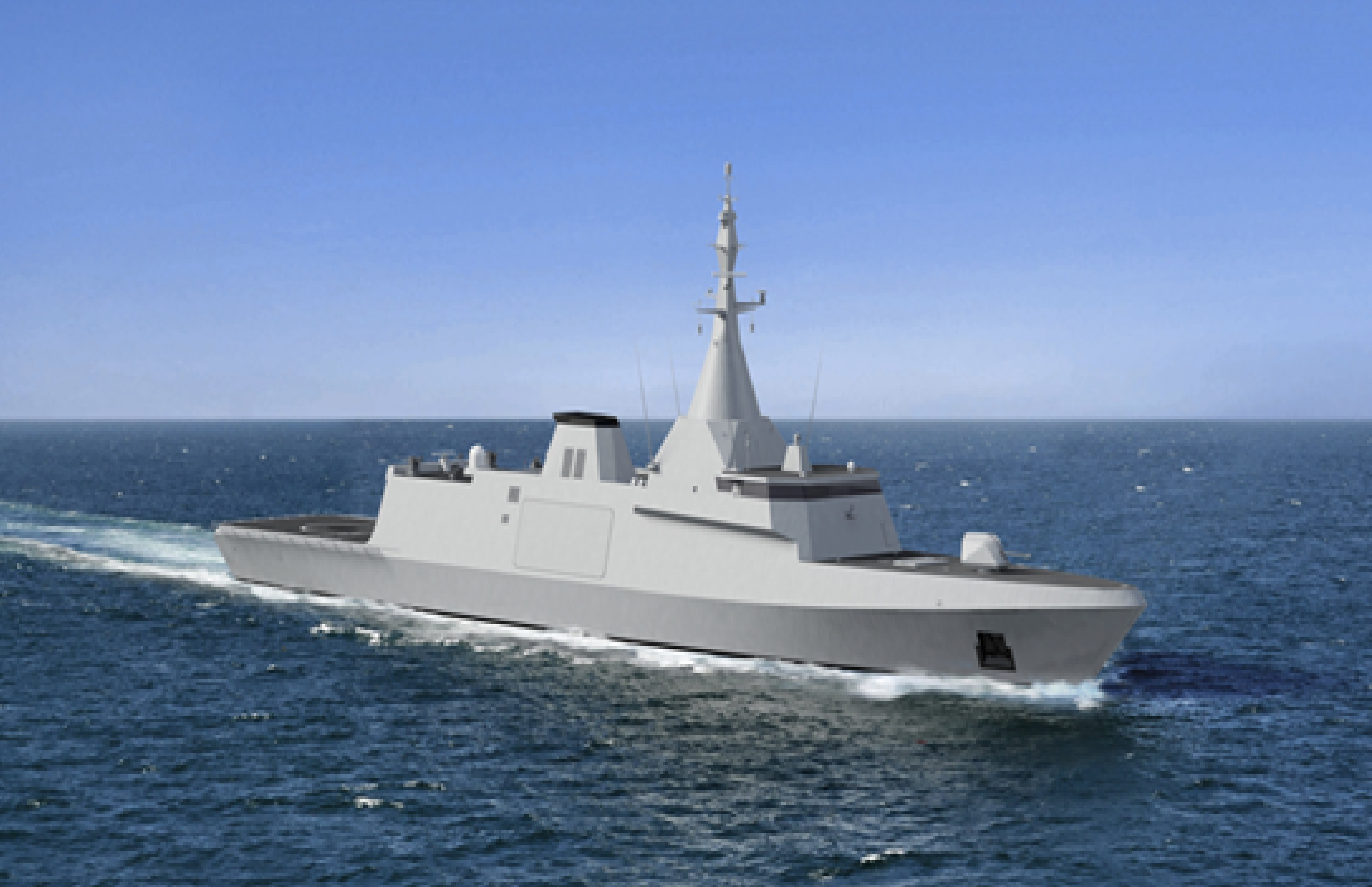 The Gowind 255 corvette [frigate] chosen by the Egyptian navy is armed with air-defence, land-strike, and ship-to-ship missiles, and will be produced in Alexandria.